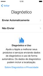Apple iPhone iOS 7 - Primeiros passos - Como ativar seu aparelho - Etapa 21