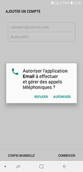 Samsung Galaxy J6 - E-mails - Ajouter ou modifier votre compte Outlook - Étape 10