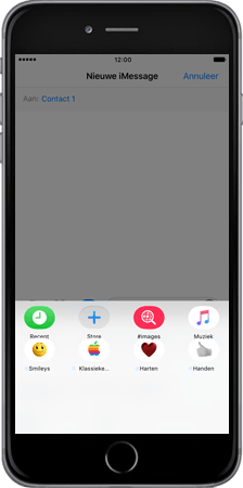 Apple iPhone 7 Plus - iOS features - iMessage functies - Stap 3