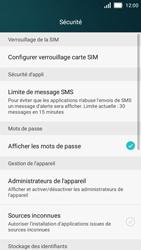 Huawei Y5 - Sécuriser votre mobile - Personnaliser le code PIN de votre carte SIM - Étape 4