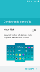 Samsung Galaxy J5 - Primeiros passos - Como ativar seu aparelho - Etapa 18