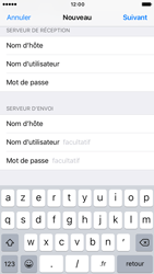 Apple iPhone 6s iOS 10 - E-mail - Configuration manuelle - Étape 15