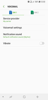 Samsung Galaxy A8 (2018) - Voicemail - Manual configuration - Step 7