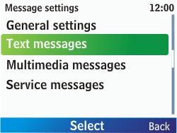 Nokia C3-00 - SMS - Manual configuration - Step 6