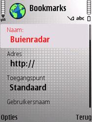 Nokia E66 - Internet - Hoe te internetten - Stap 12