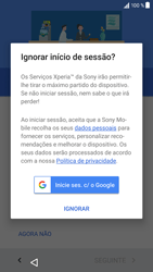 Sony Xperia XZ - Android Nougat - Primeiros passos - Como ligar o telemóvel pela primeira vez -  15