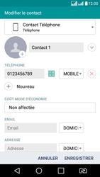 LG LG K8 - Contact, Appels, SMS/MMS - Ajouter un contact - Étape 8