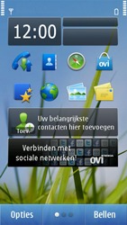 Nokia N8-00 - Applicaties - Applicaties downloaden - Stap 1