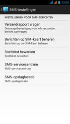 Wiko Darkmoon - SMS - Handmatig instellen - Stap 8