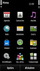 Nokia E7-00 - SMS - handmatig instellen - Stap 3