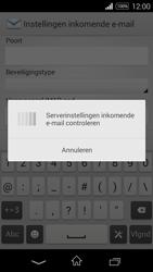 Sony Xperia E3 - E-mail - e-mail instellen: IMAP (aanbevolen) - Stap 11
