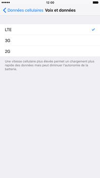 Apple iPhone 6 Plus iOS 9 - Réseau - Changer mode réseau - Étape 5