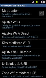 Samsung I8160 Galaxy Ace II - Funciones básicas - Activar o desactivar el modo avión - Paso 5