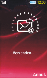 Samsung S7350 Ultra Slide - E-mail - Hoe te versturen - Stap 16