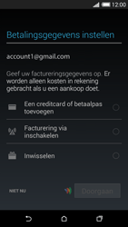 HTC One (M8) Mini 4G - Applicaties - Account aanmaken - Stap 20