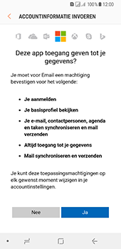 Samsung Galaxy A8 (2018) - E-mail - Handmatig instellen (outlook) - Stap 9