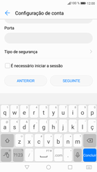 Huawei P9 Lite - Android Nougat - Email - Configurar a conta de Email -  19