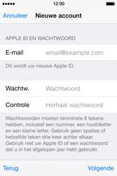 Apple iPhone 4S met iOS 8 (Model A1387) - Applicaties - Account aanmaken - Stap 13