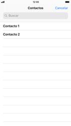 Apple iPhone 6 - iOS 11 - Mensajería - Escribir y enviar un mensaje multimedia - Paso 5