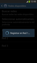 Samsung S7580 Galaxy Trend Plus - Red - Seleccionar una red - Paso 9