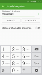 Samsung Galaxy A3 A310F 2016 - Chamadas - Como bloquear chamadas de um número -  10
