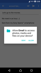 Sony Xperia XA1 - Email - Sending an email message - Step 11