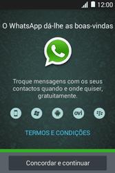 Samsung Galaxy Young II - Aplicações - Como configurar o WhatsApp -  5