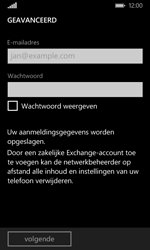 Microsoft Lumia 532 - E-mail - Account instellen (POP3 zonder SMTP-verificatie) - Stap 7