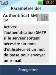 LG T580 - E-mails - Ajouter ou modifier un compte e-mail - Étape 11
