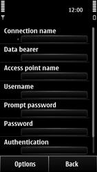 Nokia 500 - Internet - Manual configuration - Step 13