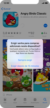 Apple iPhone X - iOS 12 - Aplicativos - Como baixar aplicativos - Etapa 16