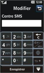 LG GD510 Pop - SMS - Configuration manuelle - Étape 6