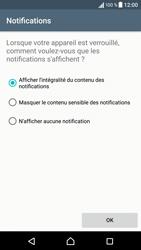 Sony Sony Xperia XA - Sécuriser votre mobile - Activer le code de verrouillage - Étape 12