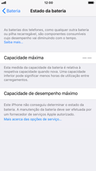 Apple iPhone 6 - iOS 11 - Bateria - Desactivar a gestão de desempenho -  9