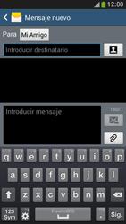 Samsung Galaxy S4 Mini - Mensajería - Escribir y enviar un mensaje multimedia - Paso 9