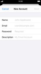 Apple iPhone SE - iOS 13 - Email - Manual configuration - Step 7