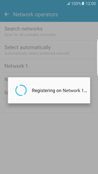 Samsung Samsung G925 Galaxy S6 Edge (Android M) - Network - Manually select a network - Step 9