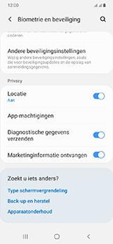Samsung Galaxy A20e - Beveiliging - pas de pincode voor je simkaart aan - Stap 5