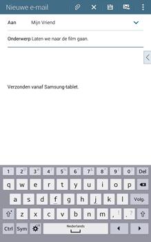 Samsung T335 Galaxy Tab 4 8-0 - E-mail - E-mails verzenden - Stap 9