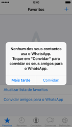 Apple iPhone SE - Aplicações - Como configurar o WhatsApp -  16