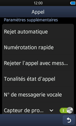 Samsung S8600 Wave 3 - Messagerie vocale - configuration manuelle - Étape 6