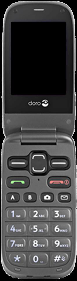 Doro Phone Easy 621 - Premiers pas - Découvrir les touches principales - Étape 3