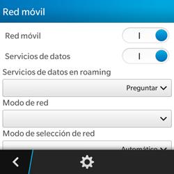 BlackBerry Q5 - Internet - Activar o desactivar la conexión de datos - Paso 6