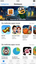 Apple iPhone iOS 8 - Aplicativos - Como baixar aplicativos - Etapa 4