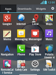 LG E430 Optimus L3 II - Internet - Enable or disable - Step 3