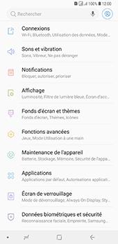 Samsung Galaxy A7 (2018) - Wifi - configuration manuelle - Étape 3
