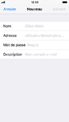 Apple iPhone 5s - iOS 12 - E-mail - Configuration manuelle - Étape 8
