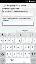 Huawei Ascend Y625 - Email - Adicionar conta de email -  10