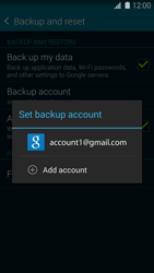 Samsung Galaxy S5 G900F - Device maintenance - Create a backup of your data - Step 7