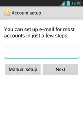 LG E610 Optimus L5 - Email - Manual configuration POP3 with SMTP verification - Step 7